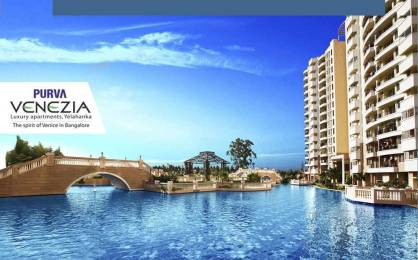 1614 sqft, 3 bhk Apartment in Purva Purva Venezia Yelahanka, Bangalore at Rs. 35000