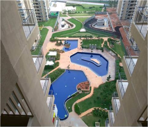 1100 sqft, 2 bhk Apartment in Bhartiya City Builders Nikoo Homes Thanisandra, Bangalore at Rs. 21000