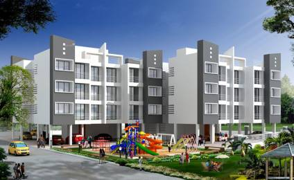 615 sqft, 1 bhk Apartment in Qualcon Greenwood Estate Taloja, Mumbai at Rs. 25.0000 Lacs