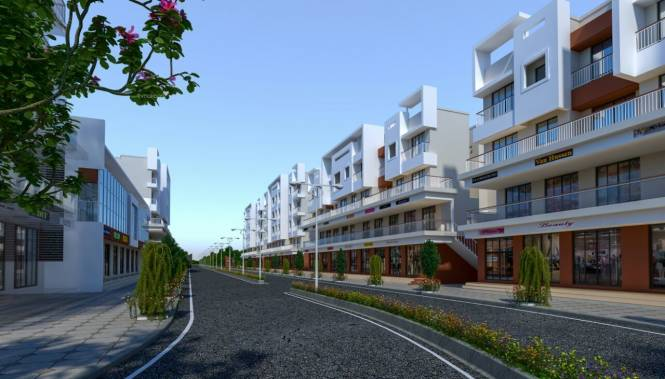 557 sqft, 1 bhk Apartment in Ananta Adore Garden Umroli, Mumbai at Rs. 16.1000 Lacs