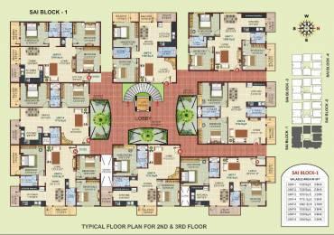 1160 sqft, 2 bhk Apartment in Shivaganga Dwarkamai Rajarajeshwari Nagar, Bangalore at Rs. 41.0000 Lacs