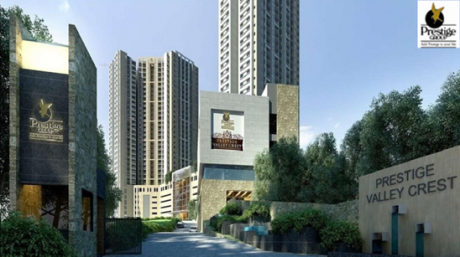 1670 sqft, 3 bhk Apartment in Prestige Valley Crest Bejai, Mangalore at Rs. 86.0050 Lacs