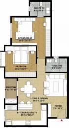 1200 sqft, 2 bhk Apartment in Brigade Pinnacle Derebail, Mangalore at Rs. 56.0000 Lacs