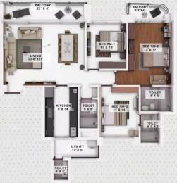 2182 sqft, 3 bhk Apartment in Menorah Alexandria Hampankatta, Mangalore at Rs. 1.2500 Cr