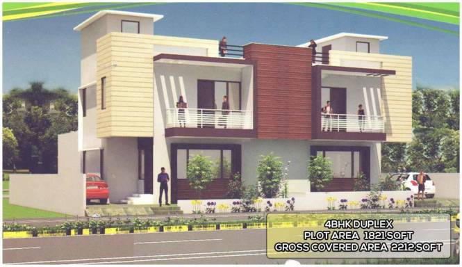 2212 sqft, 4 bhk Villa in Builder Project Sachin Tendulkar Road, Gwalior at Rs. 85.0000 Lacs