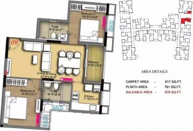 976 sqft, 2 bhk Apartment in Radiance Icon Koyambedu, Chennai at Rs. 1.0000 Cr