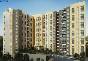 631 sq ft 2 BHK + 1T Apartment in Casagrand Builder Northern Star