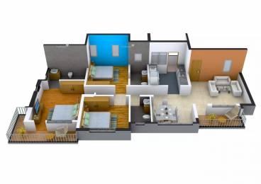 1595 sqft, 3 bhk Apartment in Mahindra Aqualily Singaperumal Koil, Chennai at Rs. 23000