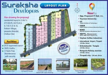 1320 sqft, Plot in Builder SURAKSHA Yerpudu, Tirupati at Rs. 5.8667 Lacs