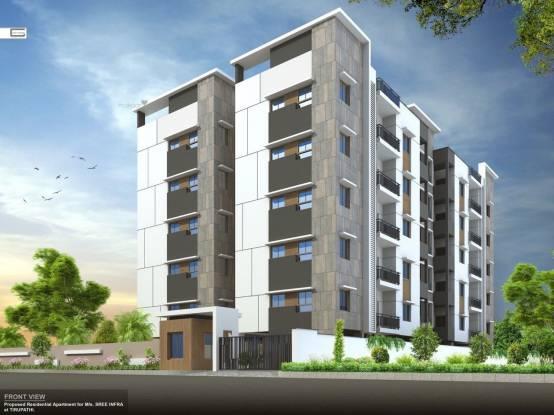 1090 sqft, 2 bhk Apartment in Builder SREE INFRA Tiruchanur, Tirupati at Rs. 32.1550 Lacs