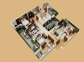 1600 sqft, 3 bhk Apartment in Builder Project Baner, Pune at Rs. 91.0000 Lacs