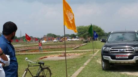 1000 sqft, Plot in mg builder Metro Plots Lucknow Kanpur Highway, Lucknow at Rs. 6.4900 Lacs