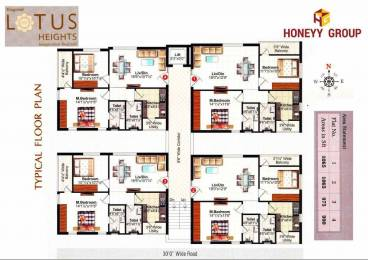 1065 sqft, 2 bhk Apartment in Builder Lotus heights Boyapalem, Visakhapatnam at Rs. 31.0000 Lacs
