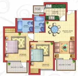 1235 sqft, 2 bhk Apartment in Cosmos Golden Heights Crossing Republik, Ghaziabad at Rs. 33.0000 Lacs