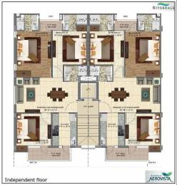 1410 sqft, 3 bhk Apartment in Builder riverdale aerovista Aerocity Road, Mohali at Rs. 37.8000 Lacs