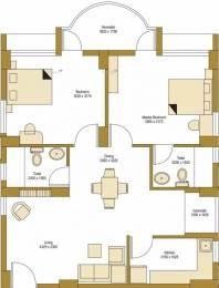1069 sqft, 2 bhk Apartment in Bengal Peerless Avidipta Mukundapur, Kolkata at Rs. 35000