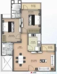 1201 sqft, 2 bhk Apartment in Anukampa Platina Sanganer, Jaipur at Rs. 41.0000 Lacs