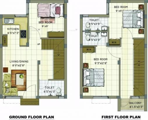 923 sqft, 3 bhk Villa in Annai Aaradhana 2 Maraimalai Nagar, Chennai at Rs. 27.0000 Lacs