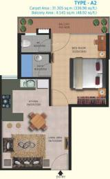 438 sqft, 1 bhk Apartment in Lotus Homz Sector 111, Gurgaon at Rs. 13.7200 Lacs