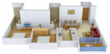 1130 sqft, 2 bhk Apartment in Ideal Ideal Heights Sealdah, Kolkata at Rs. 25000