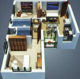 712 sqft, 2 bhk Apartment in Hiland Greens Budge Budge, Kolkata at Rs. 28.0000 Lacs
