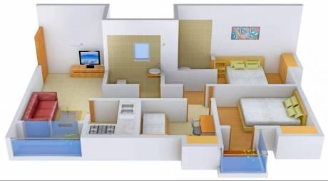 1185 sqft, 2 bhk Apartment in Magnolia Skyview New Town, Kolkata at Rs. 68.0000 Lacs