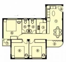975 sqft, 3 bhk Apartment in Bengal Sisirkunja Madhyamgram, Kolkata at Rs. 15000