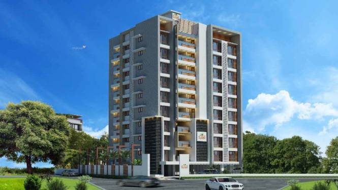 917 sqft, 2 bhk Apartment in Builder Tulsi Nest Edappally, Kochi at Rs. 49.0000 Lacs