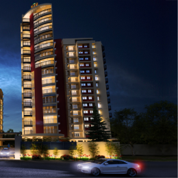 1616 sqft, 3 bhk Apartment in Tulsi Capitol Pointe Vennala, Kochi at Rs. 1.2000 Cr