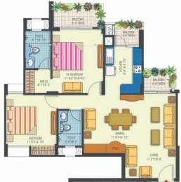 1325 sqft, 2 bhk Apartment in Manglam Rangoli Greens Panchyawala, Jaipur at Rs. 22000