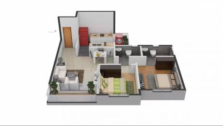 966 sqft, 2 bhk Apartment in TATA New Haven Nelamangala Town, Bangalore at Rs. 65.0000 Lacs