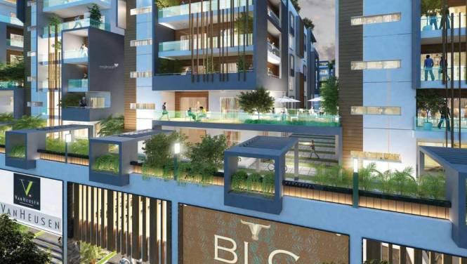 1633 sqft, 3 bhk Apartment in Aryamitra Bay Hills Narsingi, Hyderabad at Rs. 57.2950 Lacs