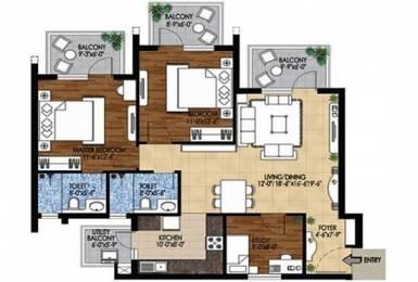 1534 sqft, 2 bhk Apartment in Builder M3M Woodshire Dwarka Expressway Gurgaon, Gurgaon at Rs. 83.6030 Lacs