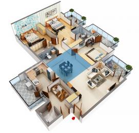 2361 sqft, 3 bhk Apartment in Builder M3M Woodshire Dwarka Expressway Gurgaon, Gurgaon at Rs. 1.2867 Cr