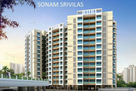 1050 sqft, 2 bhk Apartment in Jainam Sonam Srivilas Mira Road East, Mumbai at Rs. 74.0000 Lacs