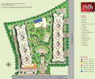 1825 sqft, 4 bhk Apartment in Saya Zion Sector 4 Noida Extension, Greater Noida at Rs. 91.2500 Lacs