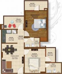 1200 sqft, 2 bhk Apartment in Ace Platinum Zeta 1 Zeta, Greater Noida at Rs. 10000