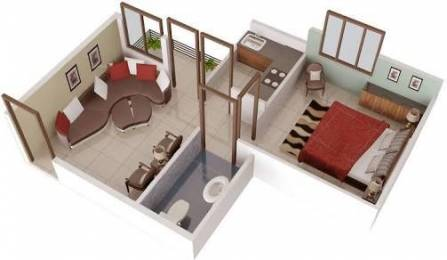 421 sqft, 1 bhk Apartment in Builder AFK HOUSING Faizabad Deva Bypass Road, Lucknow at Rs. 8.5100 Lacs