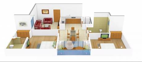 1186 sqft, 2 bhk Apartment in Spring Greens Phase 1 Gomti Nagar, Lucknow at Rs. 42.0000 Lacs