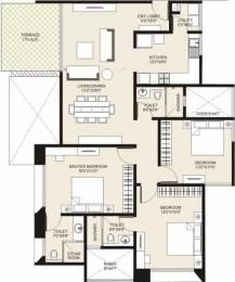 1775 sqft, 3 bhk Apartment in Marvel Cerise Kharadi, Pune at Rs. 42000