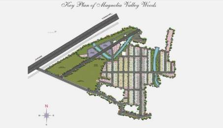 2329 sqft, Plot in Magnolia Valley Woods Bidadi, Bangalore at Rs. 41.9220 Lacs