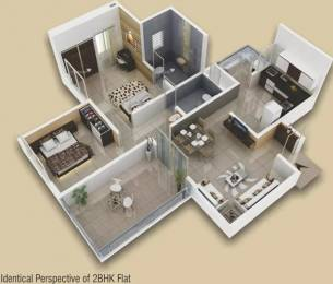 1022 sqft, 2 bhk Apartment in Sukhwani Gracia Sus, Pune at Rs. 13000