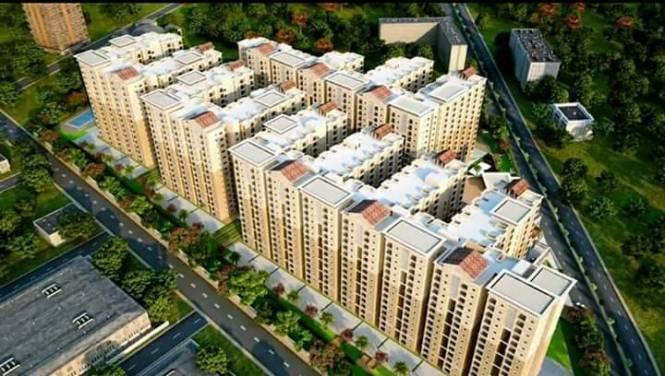 1214 sqft, 2 bhk Apartment in Nebula Aavaas Miyapur, Hyderabad at Rs. 38.7500 Lacs