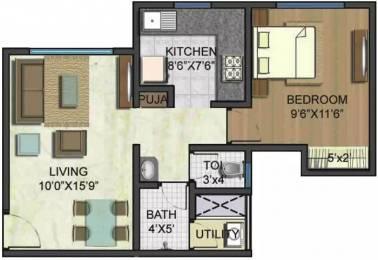 594 sqft, 1 bhk Apartment in Lodha Casa Ultima Thane West, Mumbai at Rs. 20000