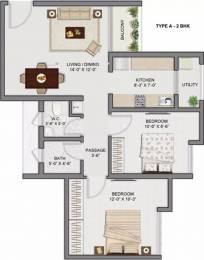 927 sqft, 2 bhk Apartment in TATA Amantra Bhiwandi, Mumbai at Rs. 65.0000 Lacs