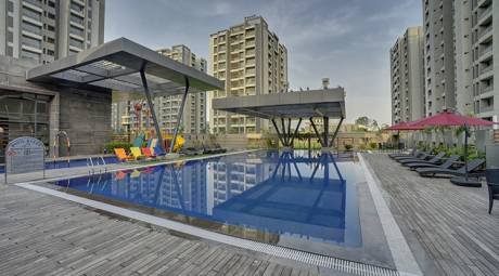 2610 sqft, 4 bhk Apartment in JP Iscon Iscon Platinum Bopal, Ahmedabad at Rs. 1.0440 Cr