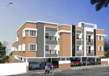 1022 sqft, 2 bhk Apartment in Builder Project Porur, Chennai at Rs. 53.6000 Lacs