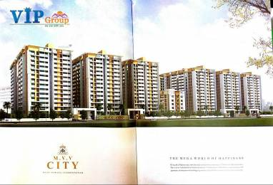 1500 sqft, 3 bhk Apartment in MVV MVV City Pothinamallayya Palem, Visakhapatnam at Rs. 58.5000 Lacs
