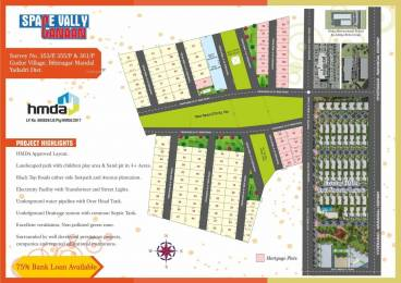1800 sqft, Plot in Builder Project Bibinagar, Hyderabad at Rs. 12.0000 Lacs