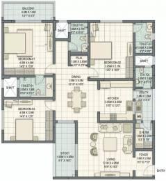 2393 sqft, 3 bhk Apartment in Sobha Palladian Marathahalli, Bangalore at Rs. 2.3000 Cr
